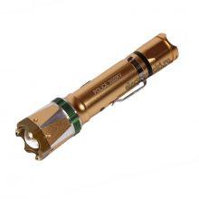 Электрошокер-фонарь Молния YB-1312 Gold