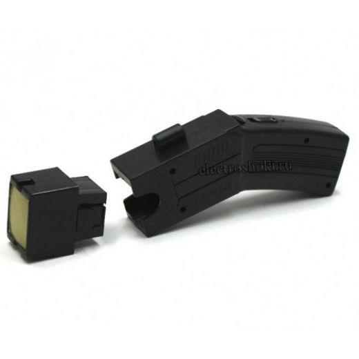 Стреляющий электрошокер Taser (поражает на расстоянии),+ 3 картриджа